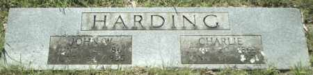 HARDING, CHARLIE - Johnson County, Arkansas | CHARLIE HARDING - Arkansas Gravestone Photos