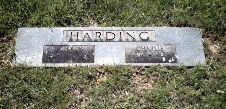HARDING, JOHN W. - Johnson County, Arkansas | JOHN W. HARDING - Arkansas Gravestone Photos