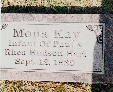 HART, MONA KAY - Johnson County, Arkansas | MONA KAY HART - Arkansas Gravestone Photos