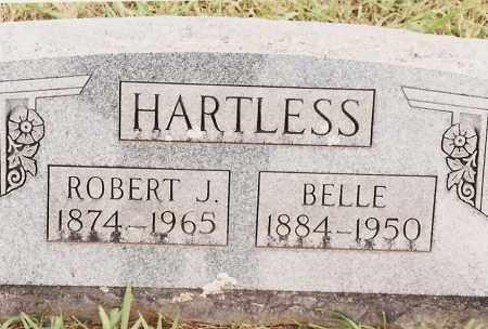 HARTLESS, BELLE - Johnson County, Arkansas | BELLE HARTLESS - Arkansas Gravestone Photos