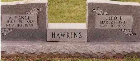 HAWKINS, CLEO L - Johnson County, Arkansas | CLEO L HAWKINS - Arkansas Gravestone Photos