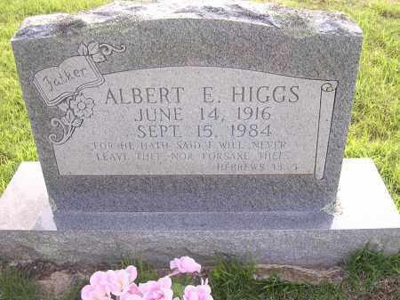 HIGGS, ALBERT  E - Johnson County, Arkansas   ALBERT  E HIGGS - Arkansas Gravestone Photos