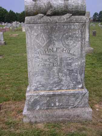 HILL, JOHN F - Johnson County, Arkansas | JOHN F HILL - Arkansas Gravestone Photos