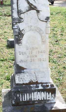 HOLLAND, HOWARD H - Johnson County, Arkansas | HOWARD H HOLLAND - Arkansas Gravestone Photos