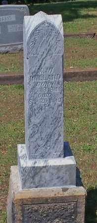 HOLLAND, MADISON W - Johnson County, Arkansas | MADISON W HOLLAND - Arkansas Gravestone Photos