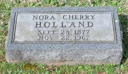 HOLLAND, NORA - Johnson County, Arkansas | NORA HOLLAND - Arkansas Gravestone Photos