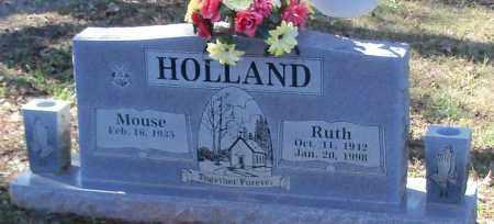 HOLLAND, RUTH - Johnson County, Arkansas | RUTH HOLLAND - Arkansas Gravestone Photos