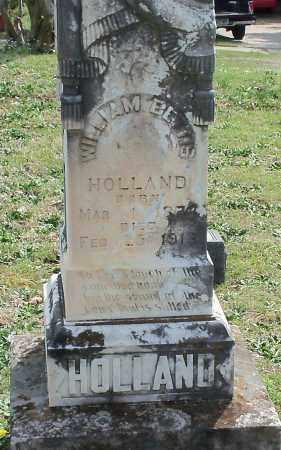 HOLLAND, WILLIAM BETTIS - Johnson County, Arkansas | WILLIAM BETTIS HOLLAND - Arkansas Gravestone Photos