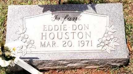 HOUSTON, EDDIE DON - Johnson County, Arkansas | EDDIE DON HOUSTON - Arkansas Gravestone Photos