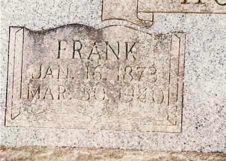 HOUSTON, FRANK - Johnson County, Arkansas   FRANK HOUSTON - Arkansas Gravestone Photos