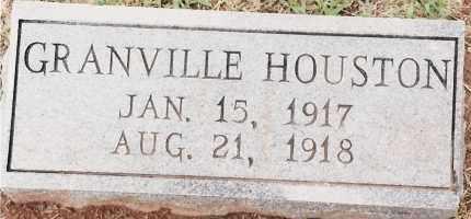 HOUSTON, GRANVILLE - Johnson County, Arkansas | GRANVILLE HOUSTON - Arkansas Gravestone Photos