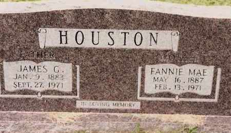 HOUSTON, FANNIE MAE - Johnson County, Arkansas | FANNIE MAE HOUSTON - Arkansas Gravestone Photos