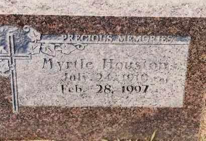 HOUSTON, MYRTLE - Johnson County, Arkansas | MYRTLE HOUSTON - Arkansas Gravestone Photos