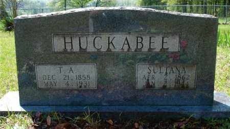 HARKINS HUCKABEE, SULTANA LAMANTHA - Johnson County, Arkansas | SULTANA LAMANTHA HARKINS HUCKABEE - Arkansas Gravestone Photos