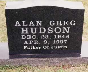 HUDSON, ALAN GREG - Johnson County, Arkansas   ALAN GREG HUDSON - Arkansas Gravestone Photos