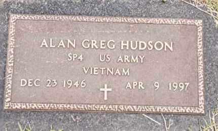 HUDSON  (VETERAN VIET), ALAN GREG - Johnson County, Arkansas   ALAN GREG HUDSON  (VETERAN VIET) - Arkansas Gravestone Photos