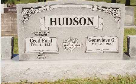 HUDSON, GENEVIEVE O - Johnson County, Arkansas | GENEVIEVE O HUDSON - Arkansas Gravestone Photos