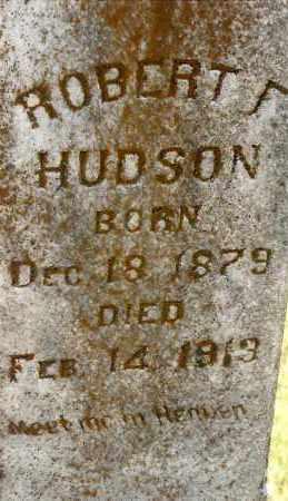 HUDSON, ROBERT F - Johnson County, Arkansas | ROBERT F HUDSON - Arkansas Gravestone Photos