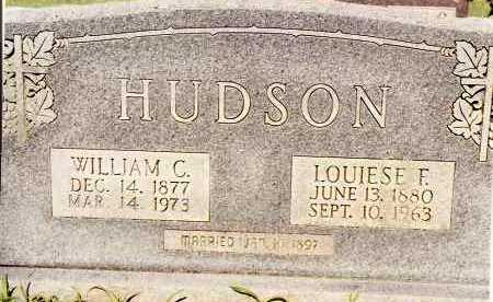 HUDSON, WILLIAM C - Johnson County, Arkansas | WILLIAM C HUDSON - Arkansas Gravestone Photos