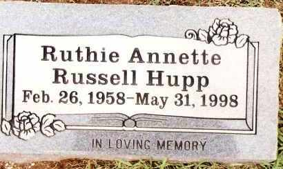 HUPP, RUTHIE ANNETTE - Johnson County, Arkansas | RUTHIE ANNETTE HUPP - Arkansas Gravestone Photos