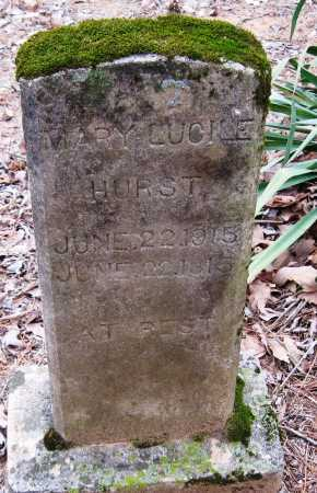 HURST, MARY LUCILE - Johnson County, Arkansas | MARY LUCILE HURST - Arkansas Gravestone Photos