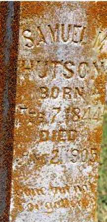 HUTSON, SAMUEL M - Johnson County, Arkansas | SAMUEL M HUTSON - Arkansas Gravestone Photos