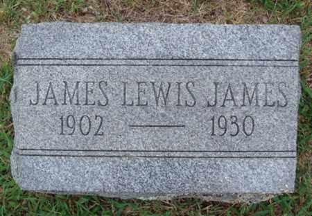 JAMES, JAMES LEWIS - Johnson County, Arkansas | JAMES LEWIS JAMES - Arkansas Gravestone Photos