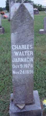JARNAGIN, CHARLES WALTER - Johnson County, Arkansas | CHARLES WALTER JARNAGIN - Arkansas Gravestone Photos