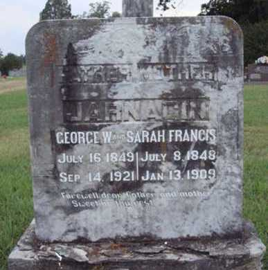 JARNAGIN, GEORGE W. - Johnson County, Arkansas | GEORGE W. JARNAGIN - Arkansas Gravestone Photos