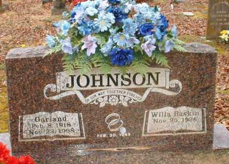 JOHNSON, GARLAND - Johnson County, Arkansas | GARLAND JOHNSON - Arkansas Gravestone Photos