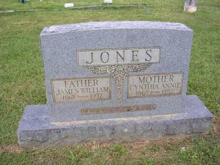 JONES, CYNTHIA ANNIE - Johnson County, Arkansas | CYNTHIA ANNIE JONES - Arkansas Gravestone Photos