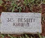 KIRWIN, SIS - Johnson County, Arkansas   SIS KIRWIN - Arkansas Gravestone Photos