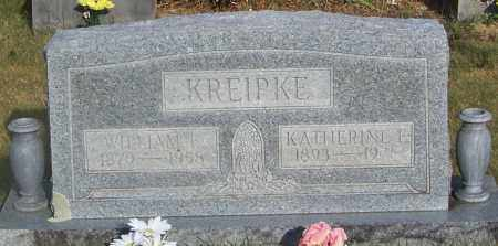 KREIPKE, KATHERINE E - Johnson County, Arkansas | KATHERINE E KREIPKE - Arkansas Gravestone Photos