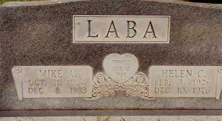 LABA, HELEN C. - Johnson County, Arkansas | HELEN C. LABA - Arkansas Gravestone Photos
