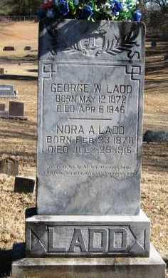 LADD, NORA A. - Johnson County, Arkansas | NORA A. LADD - Arkansas Gravestone Photos