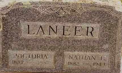 LANEER, VICTORIA - Johnson County, Arkansas | VICTORIA LANEER - Arkansas Gravestone Photos