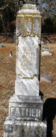 LEWIS, J  H - Johnson County, Arkansas | J  H LEWIS - Arkansas Gravestone Photos