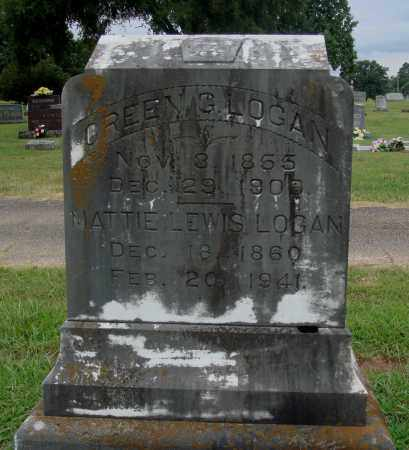 LEWIS LOGAN, MATTIE - Johnson County, Arkansas | MATTIE LEWIS LOGAN - Arkansas Gravestone Photos