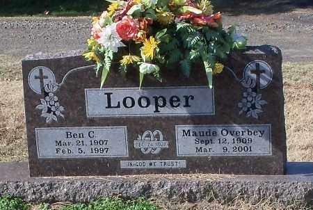 OVERBEY LOOPER, MAUDE - Johnson County, Arkansas   MAUDE OVERBEY LOOPER - Arkansas Gravestone Photos