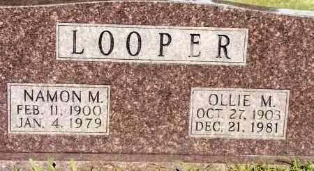 LOOPER, NAMON M - Johnson County, Arkansas | NAMON M LOOPER - Arkansas Gravestone Photos