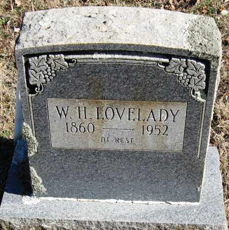 LOVELADY, W  H - Johnson County, Arkansas | W  H LOVELADY - Arkansas Gravestone Photos