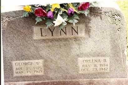 LYNN, ORLENA B - Johnson County, Arkansas | ORLENA B LYNN - Arkansas Gravestone Photos