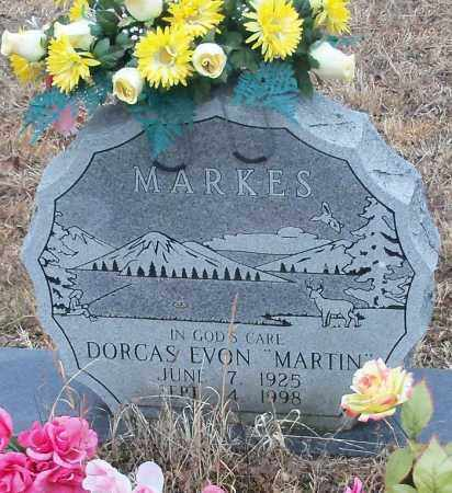 MARTIN, DORCAS EVON - Johnson County, Arkansas | DORCAS EVON MARTIN - Arkansas Gravestone Photos