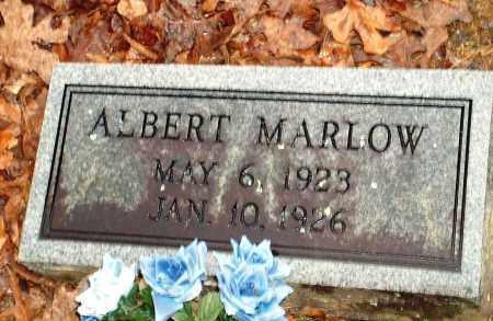 MARLOW, ALBERT - Johnson County, Arkansas | ALBERT MARLOW - Arkansas Gravestone Photos