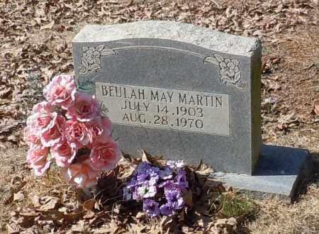 MARTIN, BEULAH MAY - Johnson County, Arkansas | BEULAH MAY MARTIN - Arkansas Gravestone Photos
