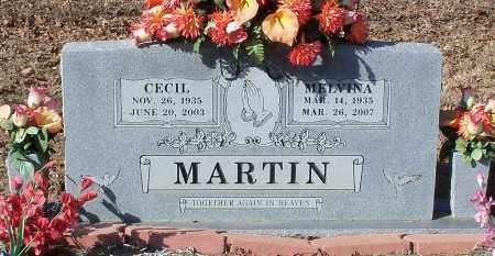 MARTIN, CECIL - Johnson County, Arkansas | CECIL MARTIN - Arkansas Gravestone Photos