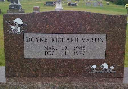 MARTIN, DOYNE RICHARD - Johnson County, Arkansas | DOYNE RICHARD MARTIN - Arkansas Gravestone Photos