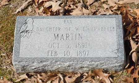 MARTIN, EVA - Johnson County, Arkansas | EVA MARTIN - Arkansas Gravestone Photos