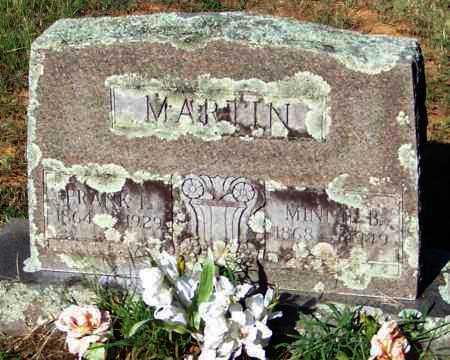 MARTIN, MINNIE B. - Johnson County, Arkansas | MINNIE B. MARTIN - Arkansas Gravestone Photos