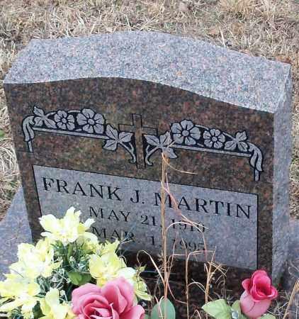 MARTIN, FRANK J - Johnson County, Arkansas | FRANK J MARTIN - Arkansas Gravestone Photos